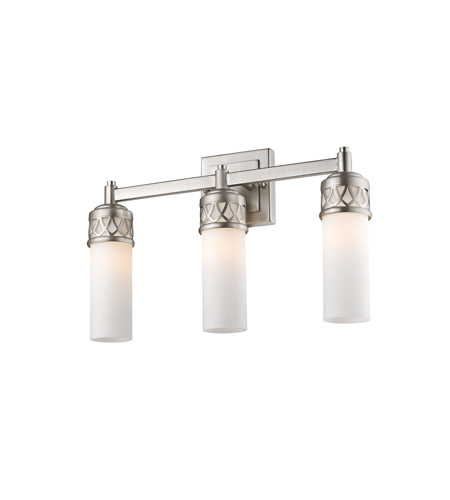 Livex 4723-91 Westfield 3 Light 18 inch Brushed Nickel Bath Light Wall Light alternative photo thumbnail