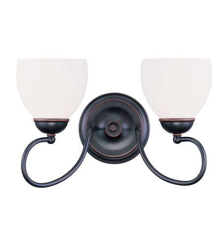 Livex 4752-67 Brookside 2 Light 15 inch Olde Bronze Bath Light Wall Light photo
