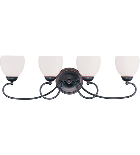 Livex Lighting Brookside 4 Light Bath Light in Olde Bronze 4754-67 photo
