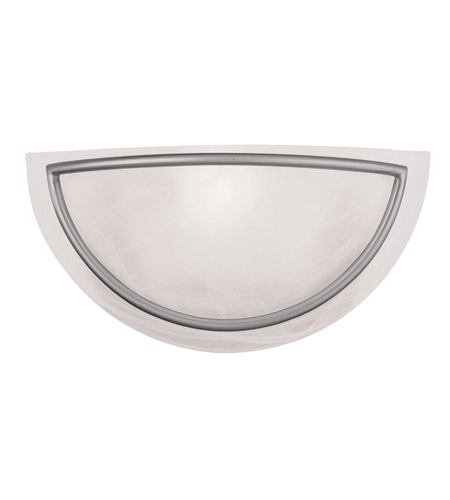 Livex Lighting Newburgh 1 Light Wall Sconce in Brushed Nickel 4820-91 photo