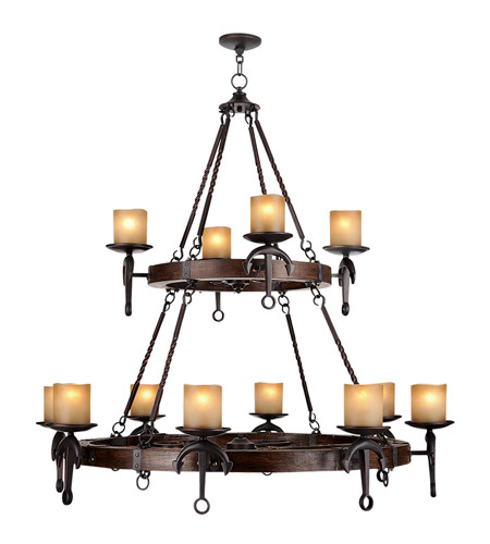 Livex 4869-67 Cape May 12 Light 48 inch Olde Bronze Chandelier Ceiling Light photo thumbnail