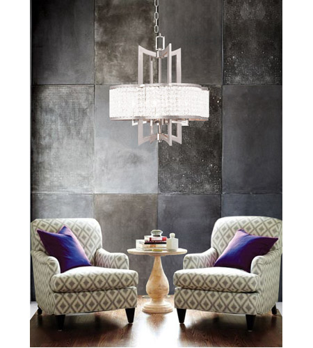 Livex 50575 91 grammercy 4 light 22 inch brushed nickel chandelier livex 50575 91 grammercy 4 light 22 inch brushed nickel chandelier ceiling light aloadofball Image collections