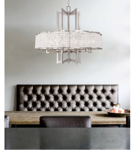Livex 50578 91 grammercy 8 light 30 inch brushed nickel chandelier livex 50578 91 grammercy 8 light 30 inch brushed nickel chandelier ceiling light photo aloadofball Image collections