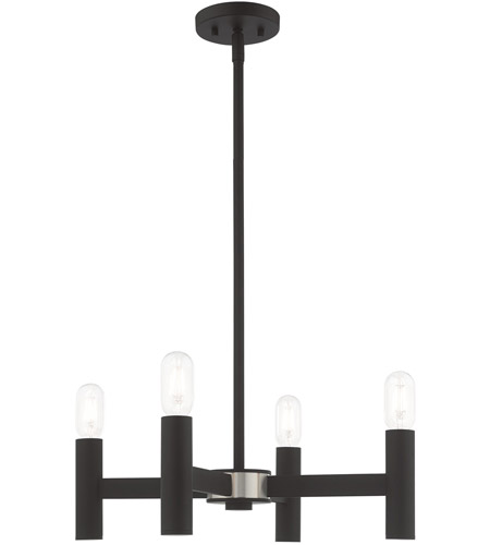 Black Steel Mini Chandeliers