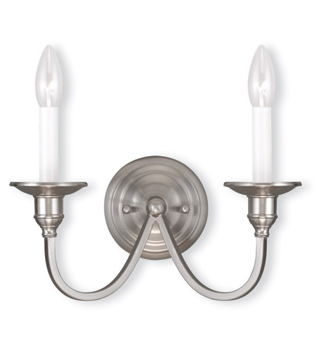 Nickel Cranford Wall Sconces