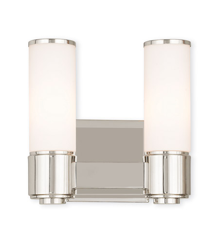 Livex Steel Weston Wall Sconces