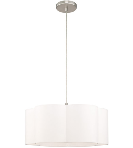 Brushed Nickel Steel Chelsea Pendants
