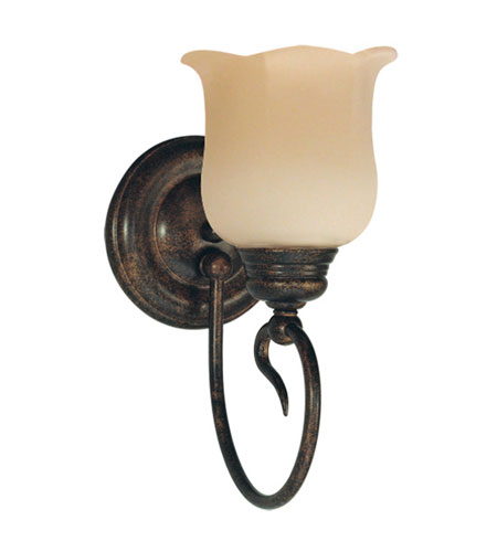 Livex Lighting Chalet 1 Light Bath Light in Moroccan Gold 5231-50 photo