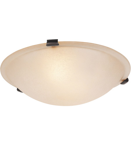 Livex Bronze Home Basics Semi-Flush Mounts