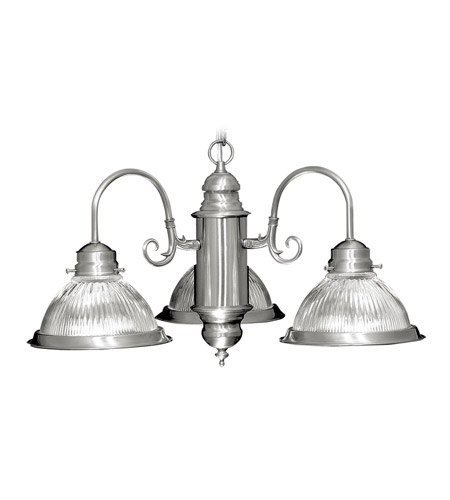 Livex 6003-91 Home Basics 3 Light 22 inch Brushed Nickel Chandelier Ceiling Light photo
