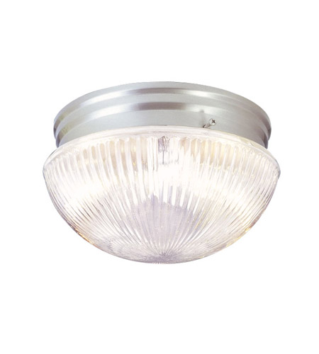 Livex 6080-91 Signature 1 Light 8 inch Brushed Nickel Ceiling Mount Ceiling Light photo