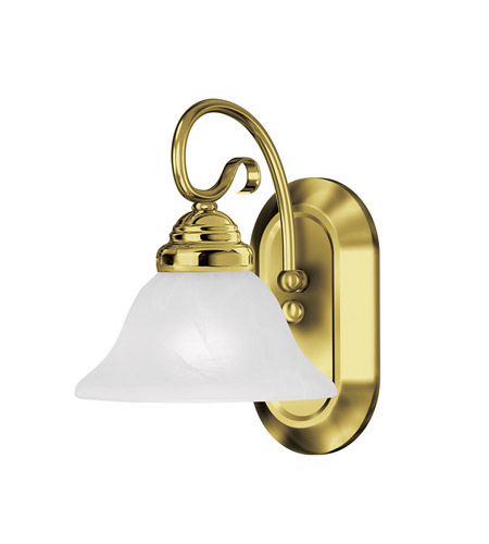 Polished Brass Coronado Bathroom Vanity Lights