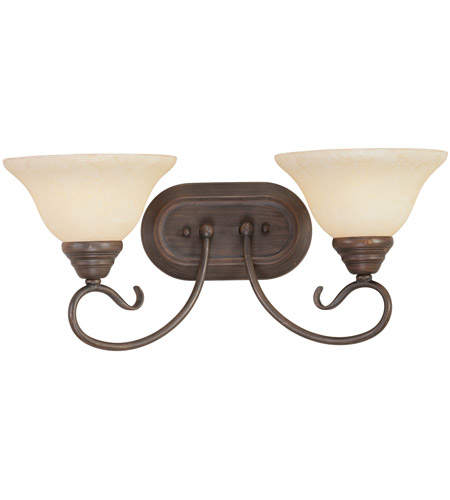 Livex Lighting Coronado 2 Light Bath Light in Imperial Bronze 6102-58 photo