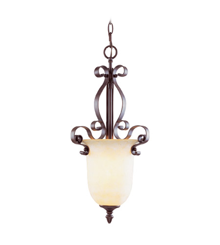Livex Lighting Manchester 1 Light Foyer Pendant in Imperial Bronze 6147-58 photo