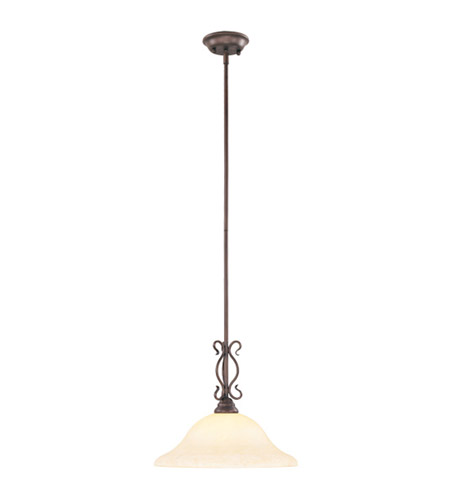 Livex Lighting Coronado 1 Light Pendant in Imperial Bronze 6184-58 photo