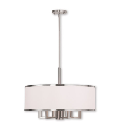 progress lighting brushed nickel chandelier park ridge light ceiling photo chain 5 with white fabric shades