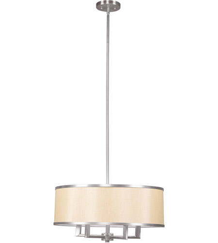 Livex 6294-91 Park Ridge 4 Light 18 inch Brushed Nickel Chandelier Ceiling Light photo