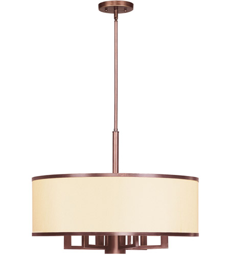 Livex Lighting Park Ridge 7 Light Chandelier in Vintage Bronze 6296-70 photo