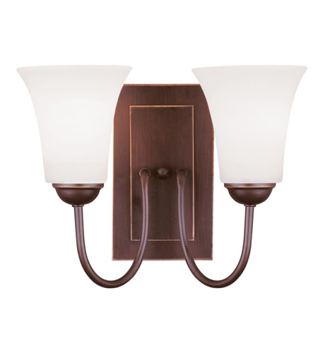 Livex Lighting Ridgedale 2 Light Wall Sconce in Vintage Bronze 6492-70 photo