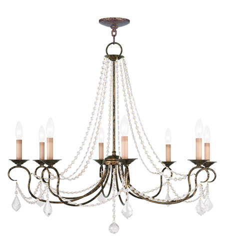 Venetian Bronze Chandelier: Livex Lighting Pennington 8 Light Chandelier In Venetian
