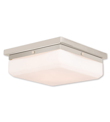 Livex 65537-35 Allure 3 Light Polished Nickel ADA Wall Sconce Wall Light photo
