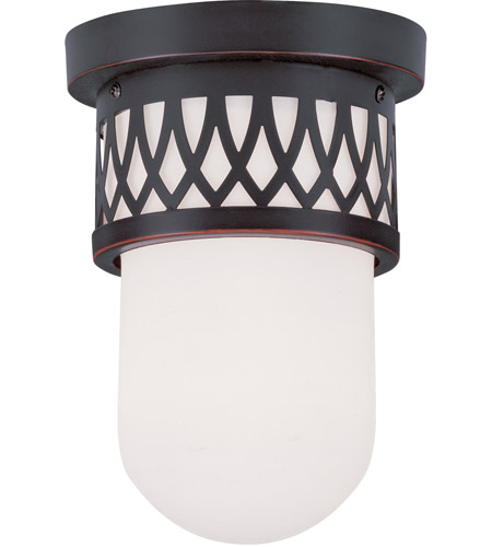 Livex 7350-67 Westfield 1 Light 6 inch Olde Bronze Ceiling Mount Ceiling Light photo