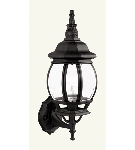 Livex Lighting Frontenac 1 Light Outdoor Wall Lantern in Black 7518-04 photo