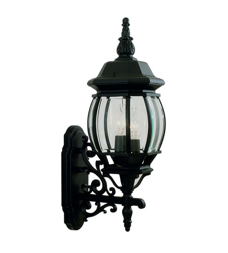 Livex 7524-04 Frontenac 3 Light 23 inch Black Outdoor Wall Lantern photo