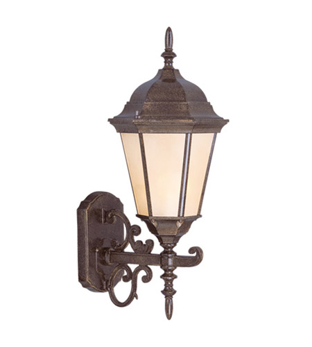 Livex Lighting Hamilton 1 Light Outdoor Wall Lantern in Moroccan Gold 7556-50 photo