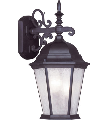 Livex Lighting Hamilton 3 Light Outdoor Wall Lantern in Bronze 7560-07 photo