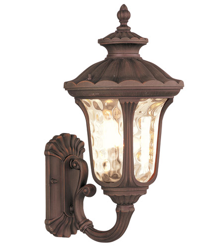 Livex 7652-58 Oxford 1 Light 18 inch Imperial Bronze Outdoor Wall Lantern photo