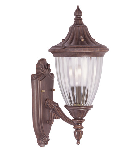 Livex Lighting Townsend 1 Light Outdoor Wall Lantern in Imperial Bronze 7780-58 photo
