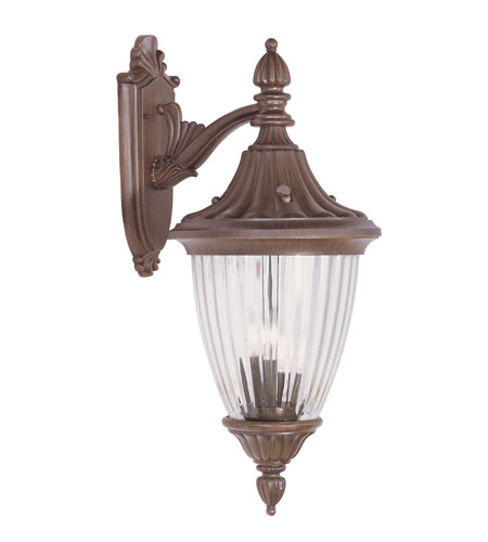 Livex 7784-58 Townsend 3 Light 27 inch Imperial Bronze Outdoor Wall Lantern photo
