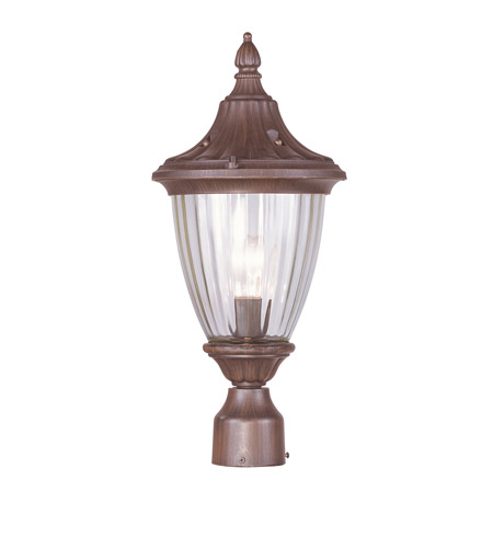 Livex Lighting Townsend 1 Light Outdoor Post Head in Imperial Bronze 7785-58 photo