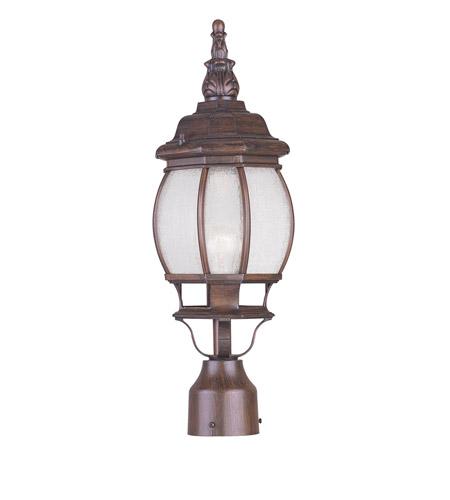 Livex Lighting Frontenac 1 Light Outdoor Post Head in Imperial Bronze 7905-58 photo