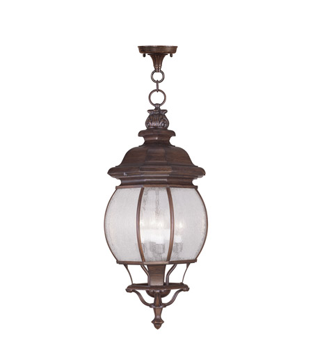 Livex 7910-58 Frontenac 4 Light 10 inch Imperial Bronze Outdoor Hanging Lantern photo