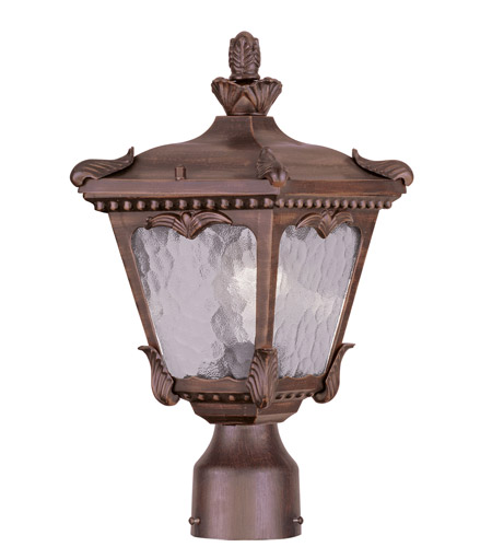 Livex Lighting Millstone 1 Light Outdoor Post Head in Imperial Bronze 7991-58 photo