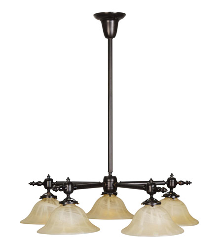 Livex lighting gas light 5 light chandelier in burnished bronze 8135 27 aloadofball Choice Image