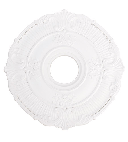 Livex 82030-03 Buckingham White Ceiling Medallion photo