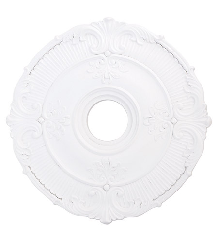 Livex 82031-03 Buckingham White Ceiling Medallion photo