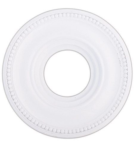 Livex 82072-03 Wingate White Ceiling Medallion photo