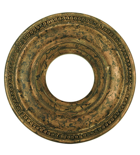 Livex 82072-71 Wingate Hand Applied Venetian Golden Bronze Ceiling Medallion photo