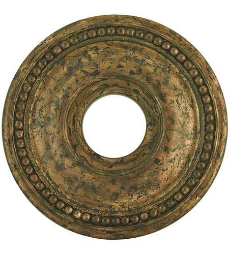 Livex 82073-71 Wingate Hand Applied Venetian Golden Bronze Ceiling Medallion photo
