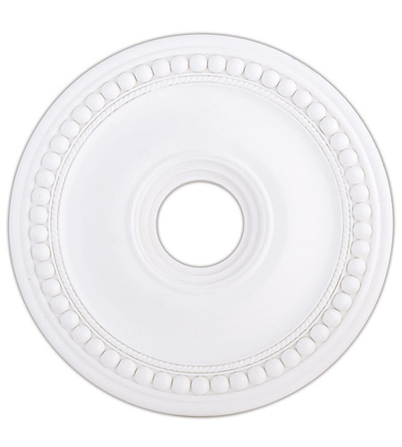 Livex 82074-03 Wingate White Ceiling Medallion photo