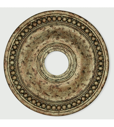 Livex 82074-36 Wingate Hand Applied European Bronze Ceiling Medallion photo