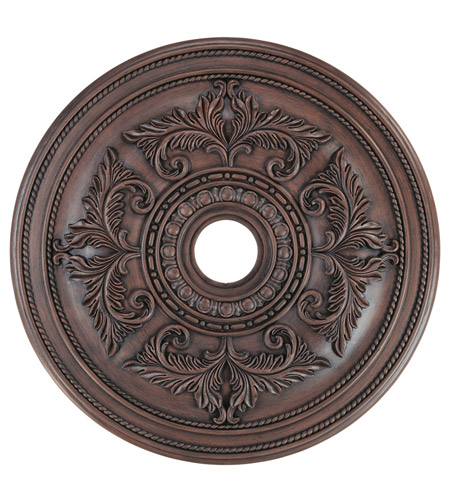 Livex 8210-58 Ceiling Medallion Imperial Bronze Accessory photo thumbnail