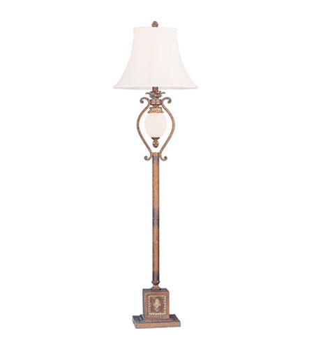 Livex Lighting Savannah 1 Light Floor Lamp in Venetian Patina 8478-57 photo
