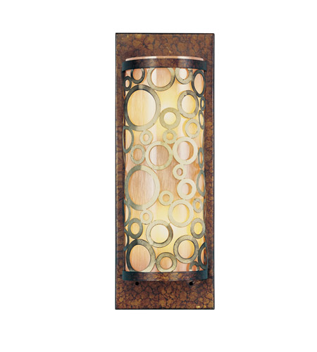Livex 8684-64 Avalon 2 Light 5 inch Palacial Bronze with Gilded Accents ADA Wall Sconce Wall Light photo