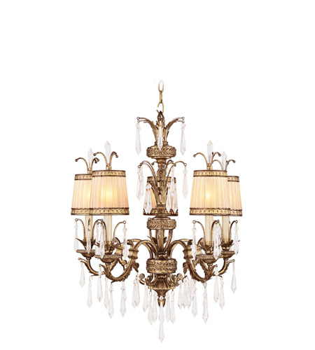 Vintage Gold Leaf La Bella Chandeliers