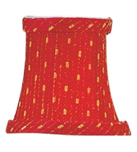 Livex S240 Chandelier Shade Red/Gold Shade photo